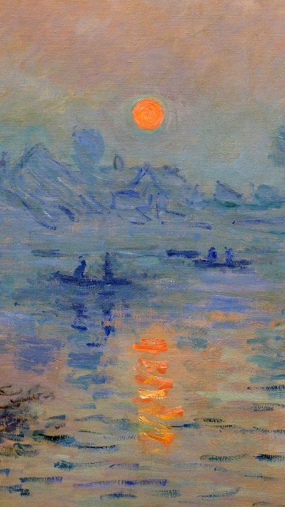 Monet Soleil Couchant